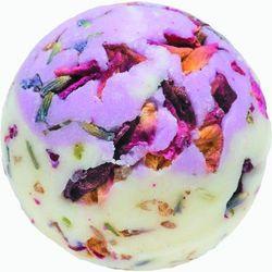 flower power - kremowa kuleczka do kąpieli wyprodukowany przez Bomb cosmetics