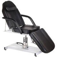 Fotel kosmetyczny hydrauliczny bw-210m czarny marki Beauty system