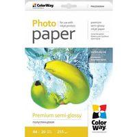 ARSEJ Papier Fotograficzny ColorWay Półpołysk A4 255g