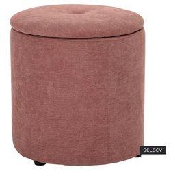 pufa pikowana seginus różowa marki Selsey
