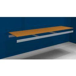 Dodatkowa półka, z trawersami i płytą wiórową, szer. x gł. 2500 (2x1250 mm) x 60 marki Julius vom hofe