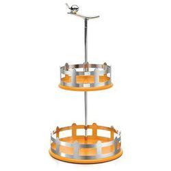 Koszyk na przyprawy dwupoziomowy aLui pomarańczowy (8003299968169)