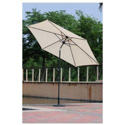 Parasol ogrodowy przeciwsłoneczny ø 270 cm beżowy