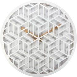 Zegar ścienny Discrete white by Nextime