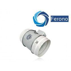 Wentylator kanałowy, plastikowy 200mm, 840 m3/h (fkp200) wyprodukowany przez Ferono