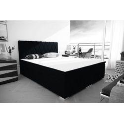 """Łóżko kontynentalne """"RIVIERA"""" 180x200 - blękit"""