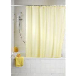 Wenko Zasłona prysznicowa, tekstylna, kolor szampański, 180x200 cm