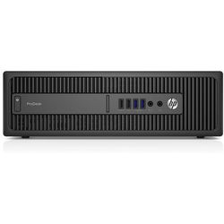HP ProDesk 600 G2 T4J52EA - Intel Core i3 6100 / 4 GB / 500 GB / DVD+/-RW / Windows 10 Pro lub 7 Pro / pak