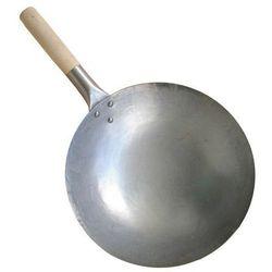 Wok ze stali węglowej ręcznie kuty 30,5cm 12