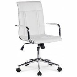 Fotel obrotowy lenton - biały marki Producent: profeos