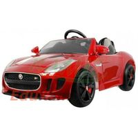 Jaguar Auto na akumulator  lakierowany piankowe koła mp3 skóra