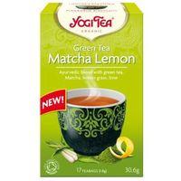 Yogi tea (herbatki) Herbatka zielona z cytryną i matchą bio (17 x 1,8 g) - yogi tea