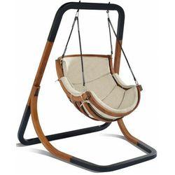 Beżowy fotel wiszący do ogrodu - pasos 2x marki Producent: elior
