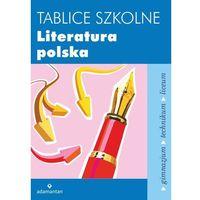 Tablice szkolne Literatura polska, oprawa miękka