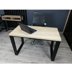 Nowoczesne biurko na metalowej podstawie BONO 120/60 Dąb Brunico