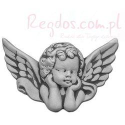 Sztukateria betonowa motyw aniołek 14cm