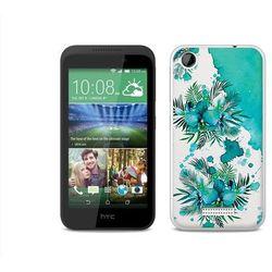 Fantastic case - htc desire 320 - etui na telefon fantastic case - turkusowa orchidea, marki Etuo.pl