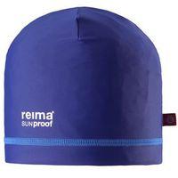 Czapka/ czepek do pływania przeciwsłoneczny UV50+ Reima UV Vesipeto ciemny niebieski, kolor niebieski