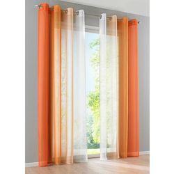 """Firana """"Cieniowane kolory"""" (2 szt.) bonprix pomarańczowy, kolor pomarańczowy"""