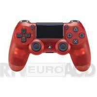 Sony  dualshock 4 v2 (red crystal) - produkt w magazynie - szybka wysyłka! (0711719868767)
