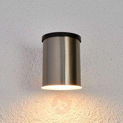 Lampenwelt.com Kinkiet zewnętrzny solarny tyson, okrągły (4251096538274)
