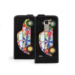 Flip Fantastic - LG G4 Stylus - etui na telefon Flip Fantastic - kolorowy garbus (Futerał telefoniczny)