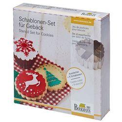 Birkmann Szablony do dekoracji ciasteczek merry christmas zamów przez telefon 514 003 430 (4026883146020)