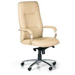 Fotel biurowy brabus, beżowy marki B2b partner
