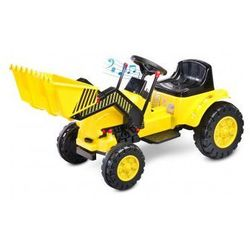Toyz Bulldozer koparka na akumulator yellow (dziecięcy pojazd elektryczny)