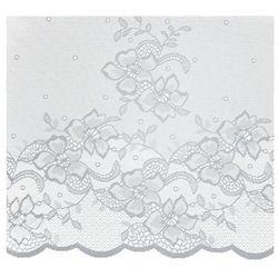 Firana żakardowa Azo 50 cm biała, kolor Firana