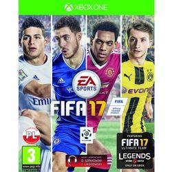 FIFA 17 z kategorii [gry Xbox One]