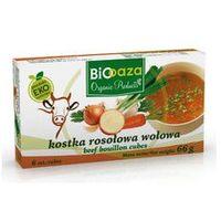 Bio kostka rosołowa wołowa 66g- 6szt. marki Biooaza
