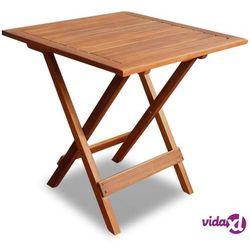vidaXL Stolik ogrodowy z drewna akacjowego