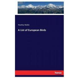 List of European Birds (9783743313507)