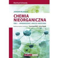 Chemia nieorganiczna t.1 Wprowadzenie i analiza ilościowa, oprawa miękka