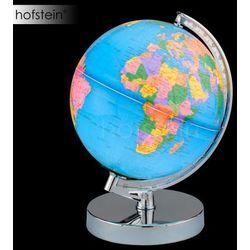 globus lampa stołowa chrom, 1-punktowy - klasyczny - obszar wewnętrzny - globus - czas dostawy: od 3-6 dni r
