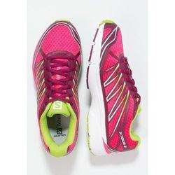 Salomon XTOUR 2 Obuwie do biegania treningowe hot pink/mystic purple/granny green ze sklepu Zalando.pl