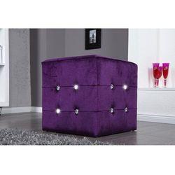 Interior space Puf gloria purple - fioletowy