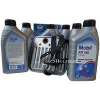 Filtr oraz olej  atf-320 skrzyni biegów jeep grand cherokee 1998-2004 marki Mobil