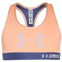 Under Armour Biustonosz sportowy playful peach/deep periwinkle/lavender ice