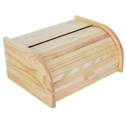Delhan Chlebak drewniany mały odelo pojemnik na pieczywo od7052