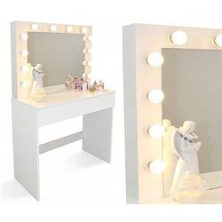 Chomik Toaletka do makijażu z lustrem i oświetleniem led (5901292689452)