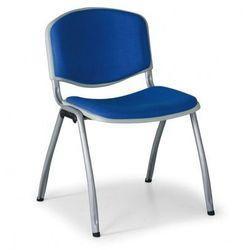 B2b partner Krzesło konferencyjne livorno, niebieskie