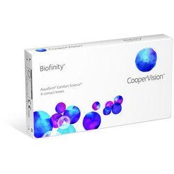 Biofinity with aquaform 3 sztuki wyprodukowany przez Coopervision hydron