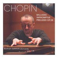 Chopin: Ballades / Impromptus / Preludes - Wyprzedaż do 90%
