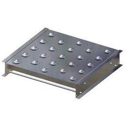 Stół kulowy, wys. konstrukcji 110 mm, szer. przenośnika 500 mm, dł. 500 mm, podz