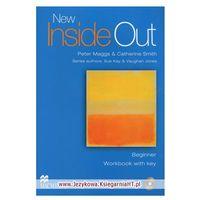 New Inside Out Beginner Ćwiczenia z Kluczem + CD, Sue Kay