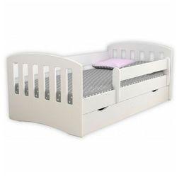 Łóżko jednoosobowe z materacem Pinokio 2X 80x160 - białe, Kocot-łóżko-1-classic-białe