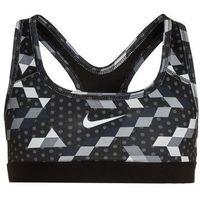 Nike Performance CLASSIC Biustonosz sportowy pure platinum/black