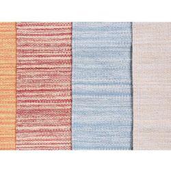 Beliani Dywan beżowy bawełniany 160x230 cm derince